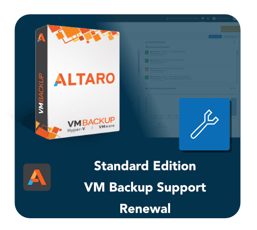 Altaro VM Standard Edition Support Renewal