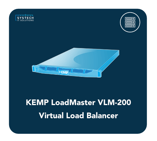 KEMP Virtual LoadMaster VLM-200 Load Balancer
