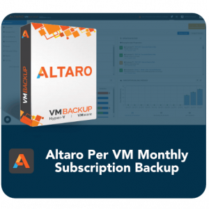 per VM backup | buy backup software per VM, Altaro Per VM Backup Subscription, pay per vm backup | Buy Altaro Per VM Backup