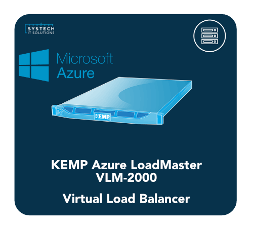KEMP MS Azure LoadMaster VLM-2000 Load Balancer, azure vlm-2000