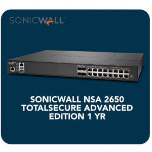 Sonicwall Nsa 2650 Totalsecure Advanced Edition 1 Yr 1