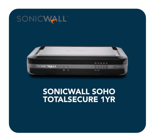 Sonicwall Soho Totalsecure 1yr 1