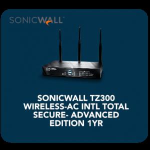 SONICWALL TZ300 WIRELESS-AC INTL
