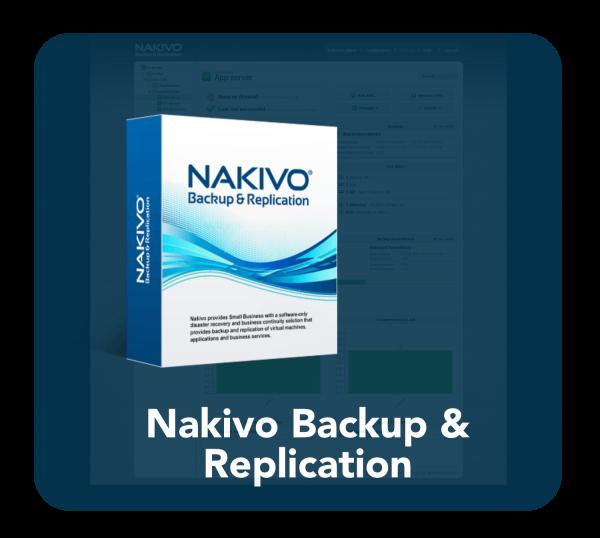Nakivo Backup curved and tinted